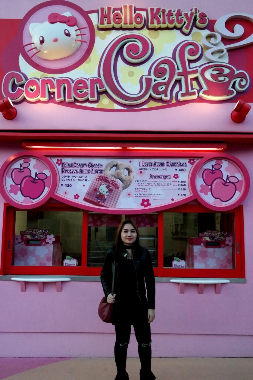 Hello Kitty's Corner Cafe
