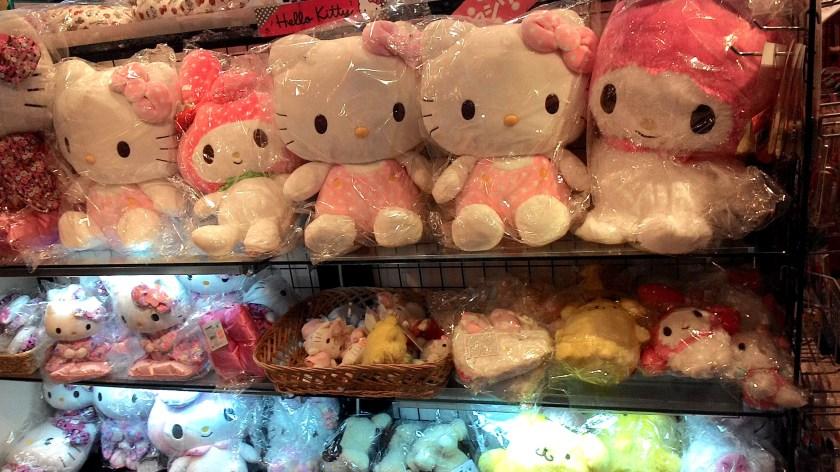 Hello Kitty Plushies