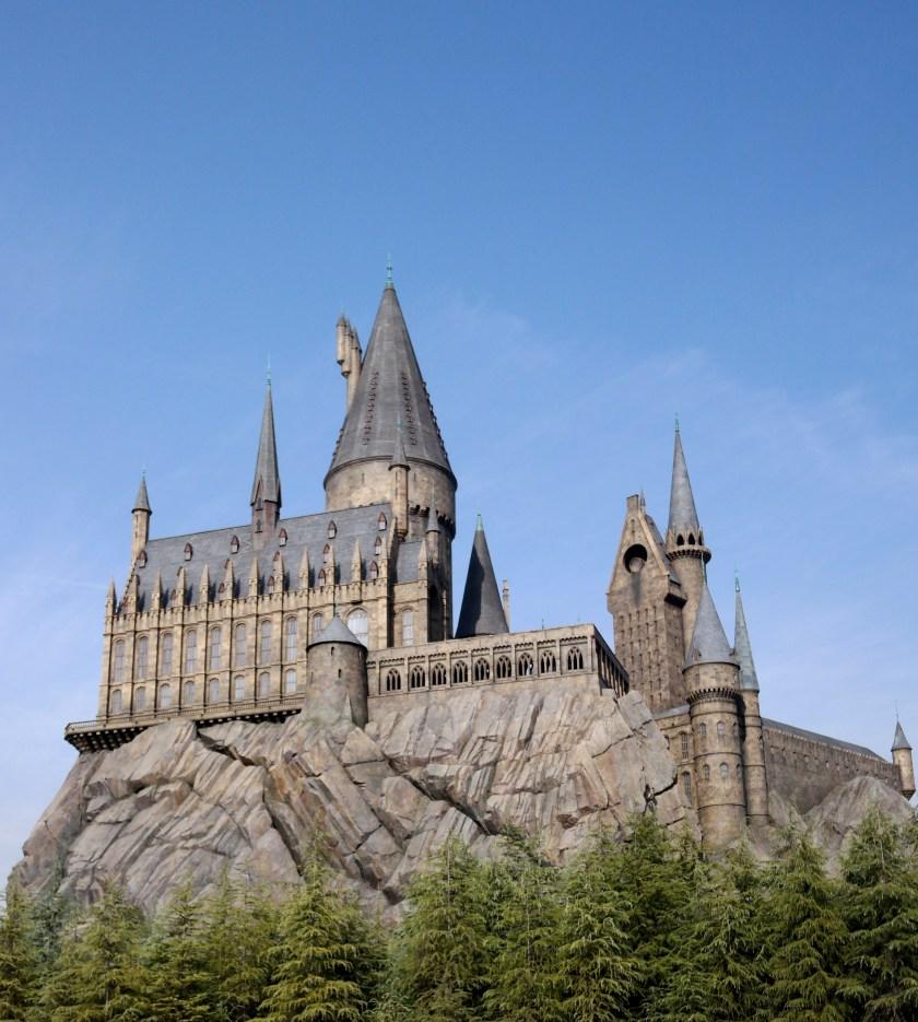 universal studios japan hogwarts castle