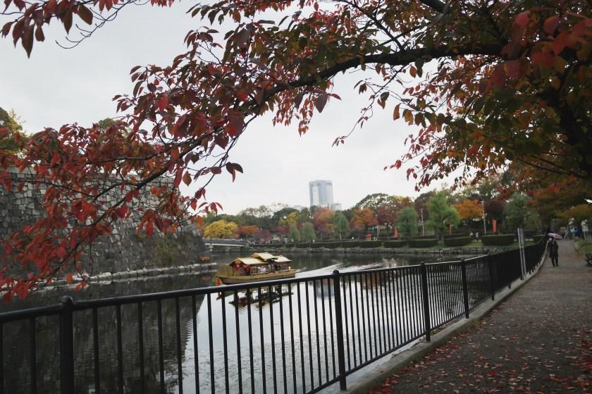 Osaka Castle river cruise