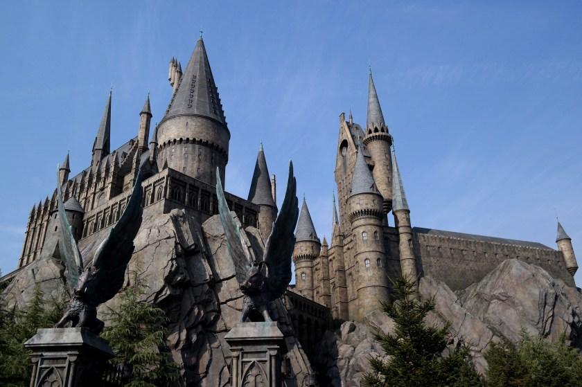 The Wizarding World of Harry Potter at Universal Studios Japan hogwarts castle