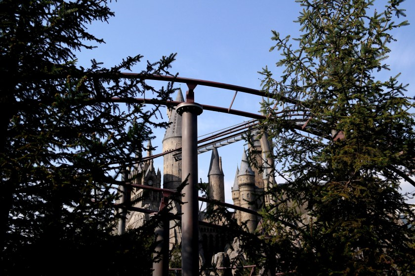 The Wizarding World of Harry Potter at Universal Studios Japan flight of the hippogriff