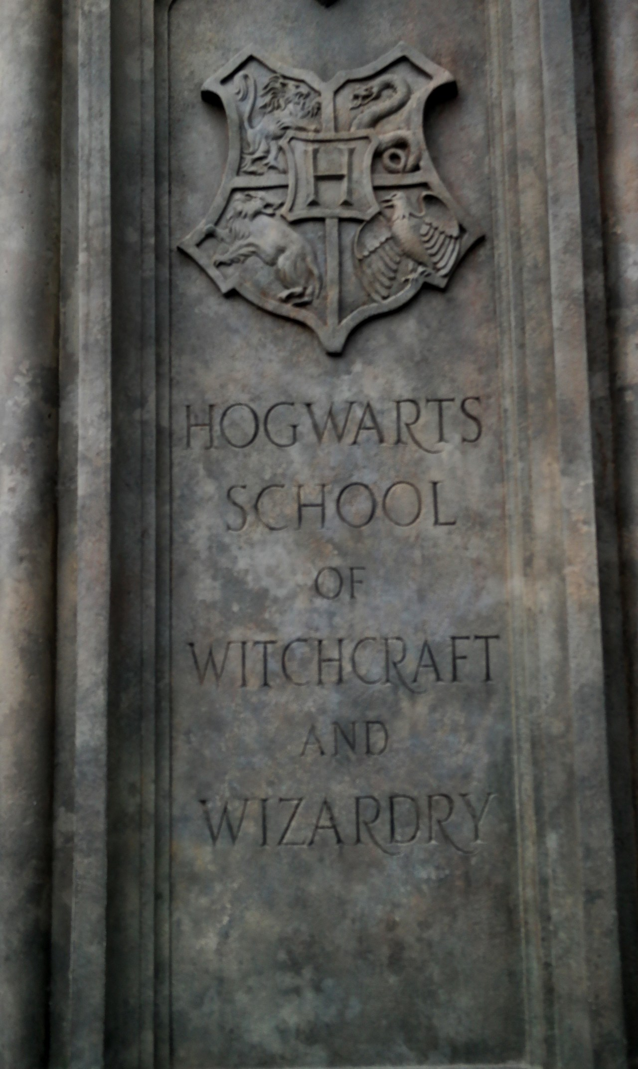 The Wizarding World of Harry Potter at Universal Studios Japan hogwarts coat of arms