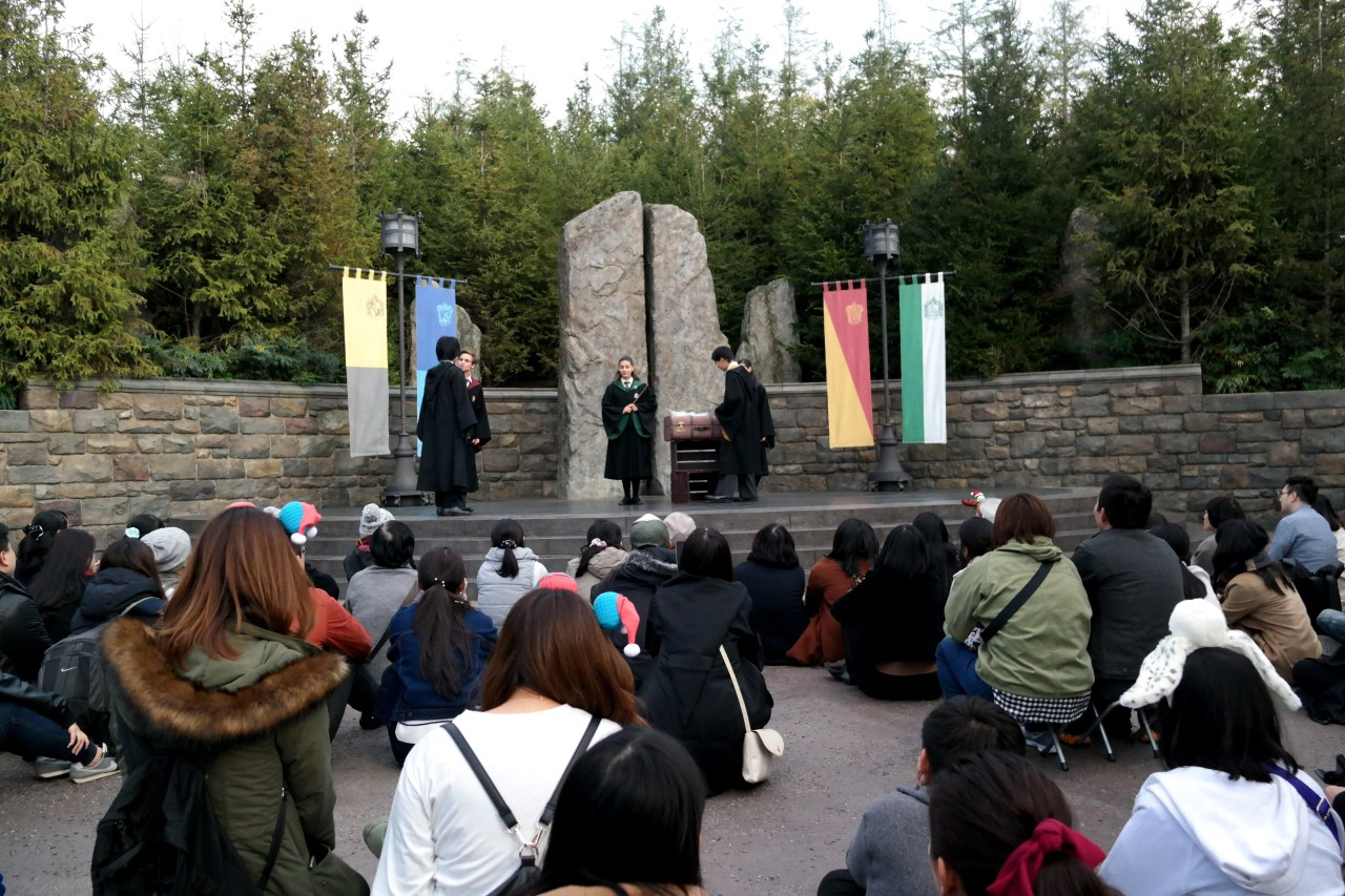 The Wizarding World of Harry Potter at Universal Studios Japan show in japan