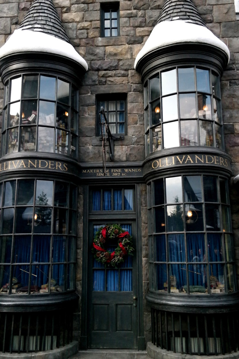 The Wizarding World of Harry Potter at Universal Studios Japan ollivanders