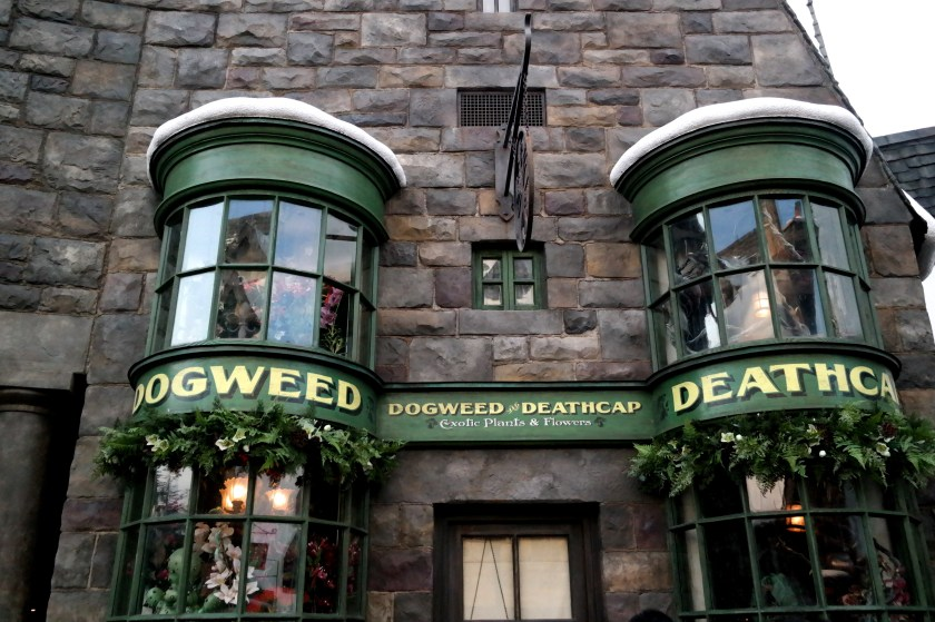 The Wizarding World of Harry Potter at Universal Studios Japan doogweed and deathcap