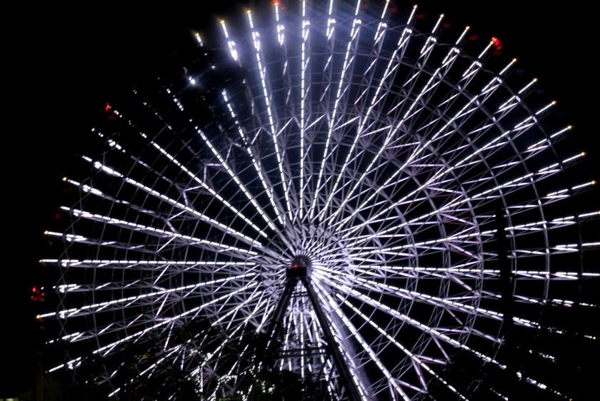 Tempozan Ferris Wheel kaiyukan