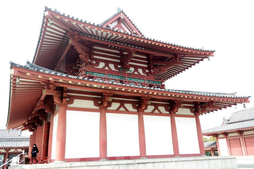 shittenoji temple main