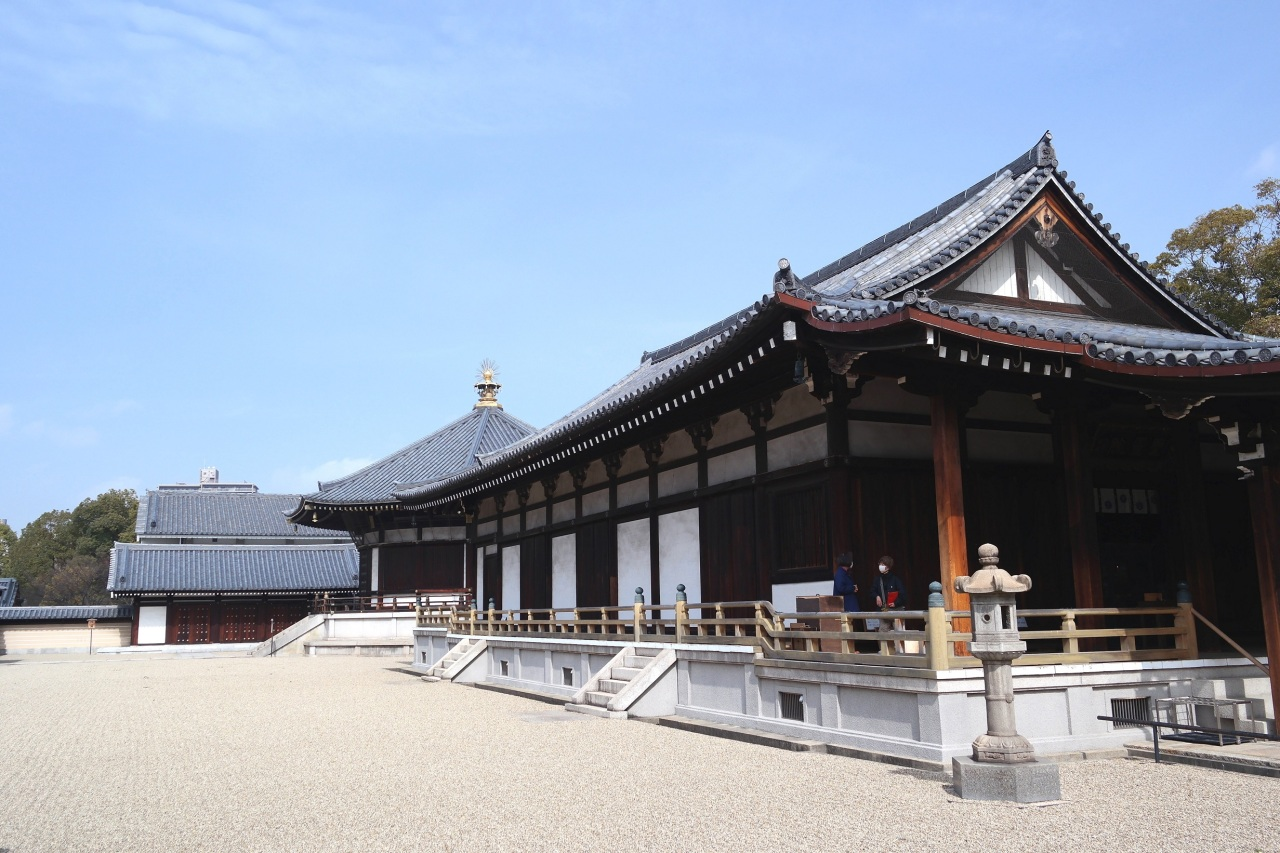 shittenoji temple surrounding