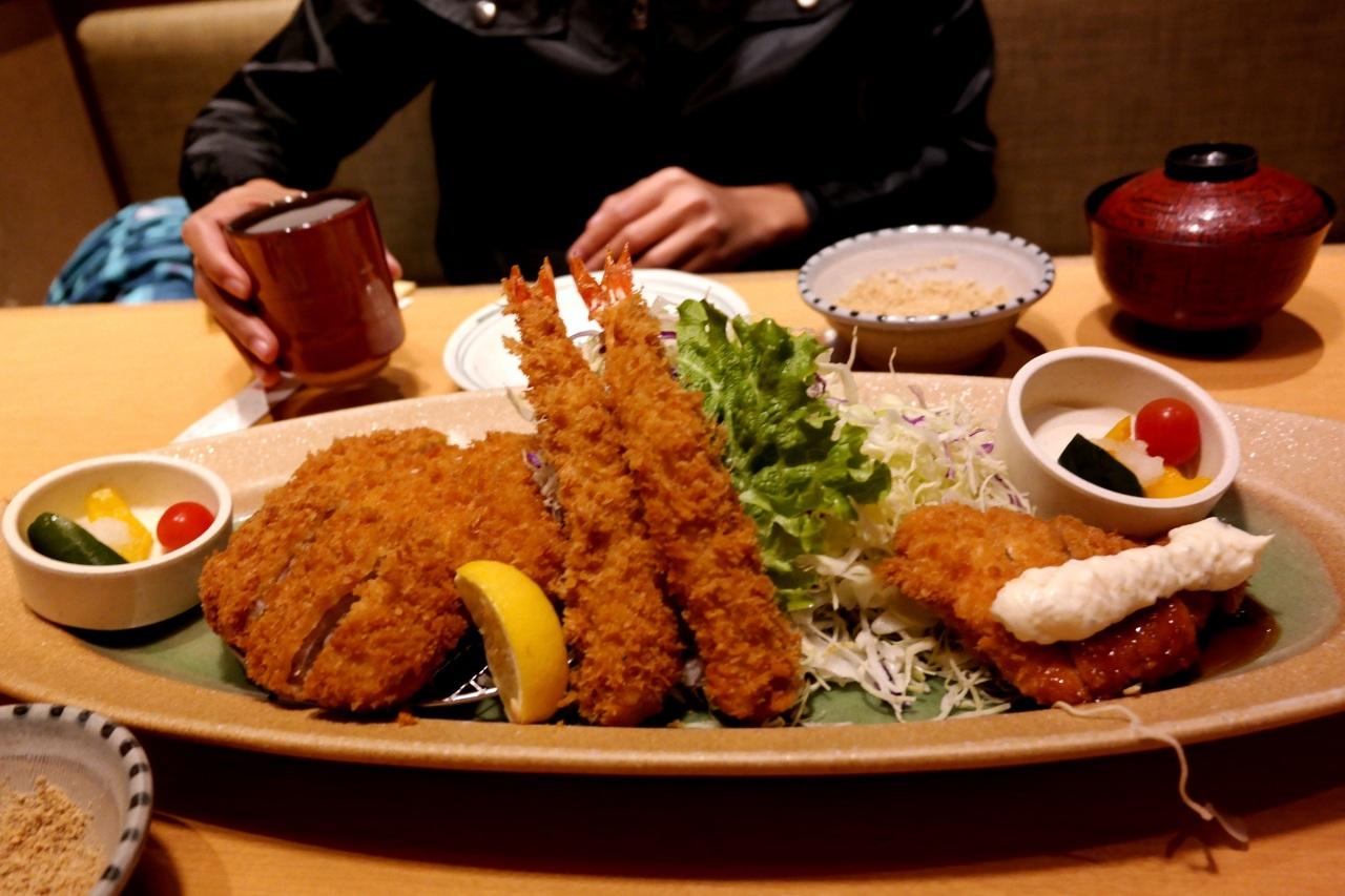 tonkatsu tempura
