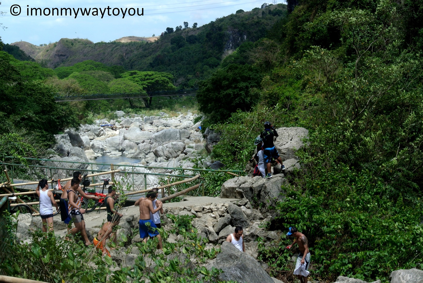 wawa dam rocks