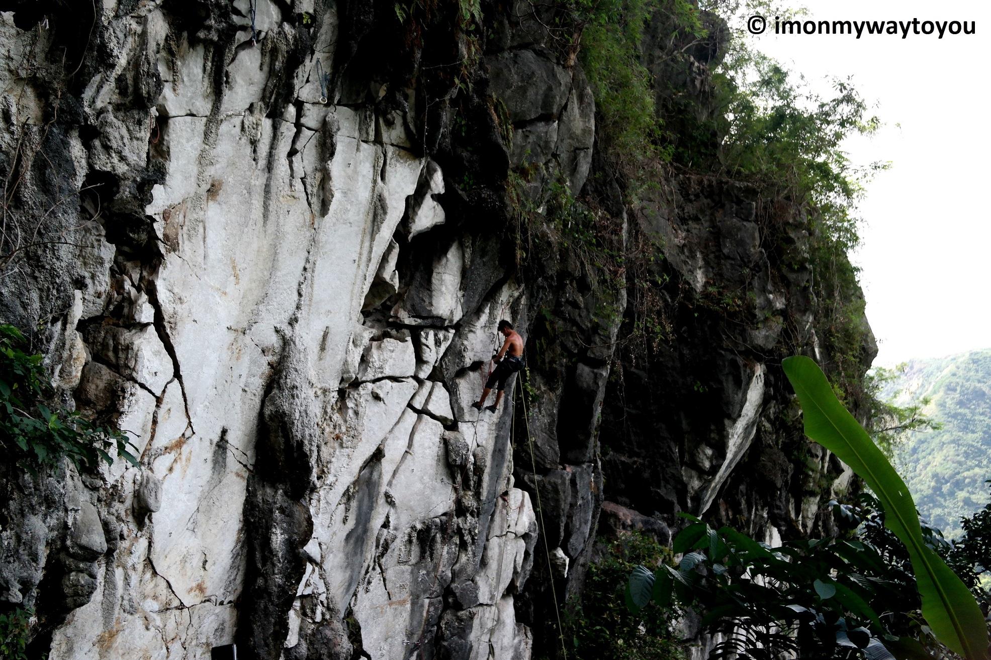 wawa dam rock climbing