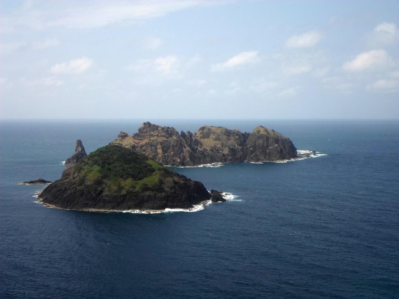 Palaui Island dos hermanos
