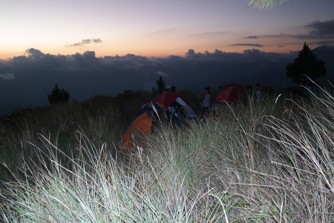 mt. pulag sea of clouds ranger station kabayan benguet