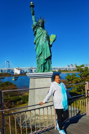 Tokyo Itinerary Liberty Statue