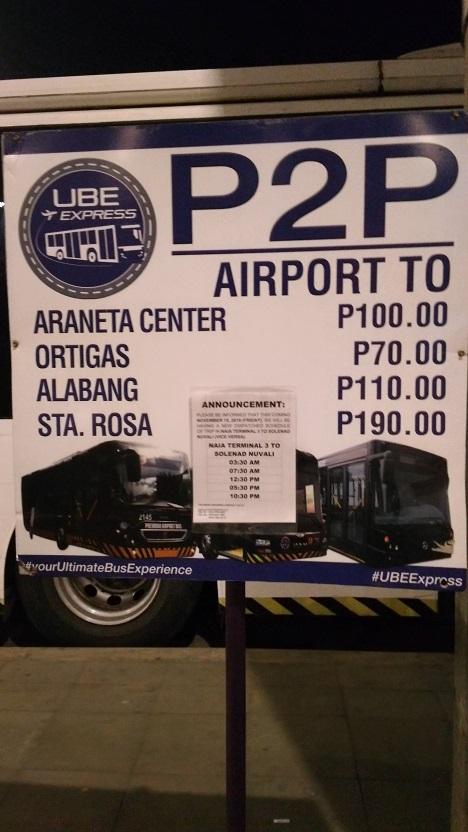 NAIA P2P Bus