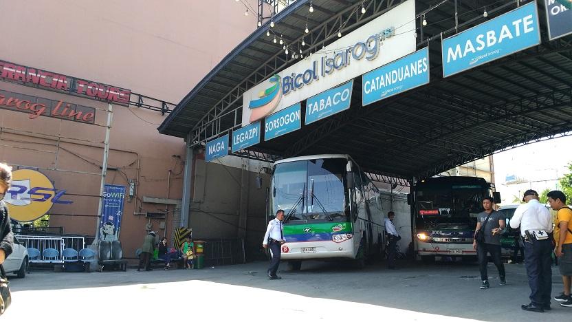 Bicol Isarog EDSA Cubao Terminal