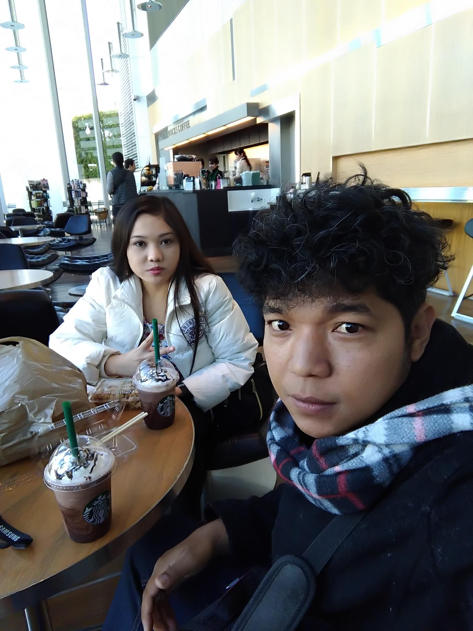 Nissan Global Headquarters Yokohama Starbucks