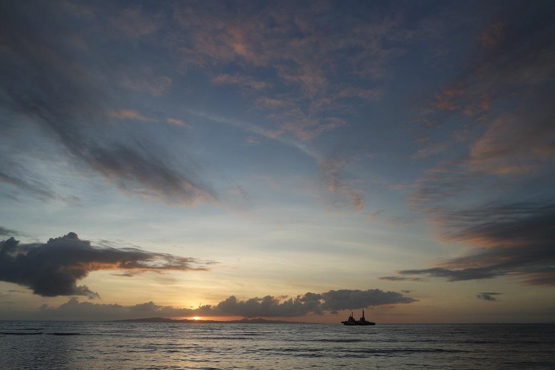 Sunrise at Mauban, Quezon